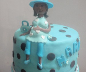 baby shower cake, baby diaper cake, and baby cake ideas image