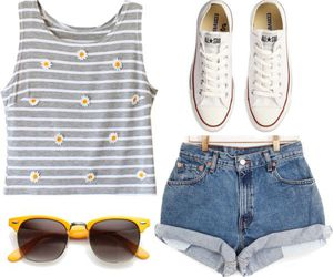 summer, all star, and fashion image