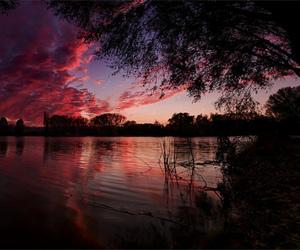 photography, lake, and landscape image