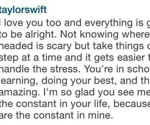 adorable, nice words, and taylor alison swift image