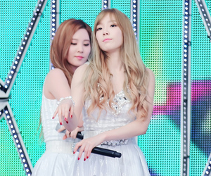 snsd, taeyeon, and tts image
