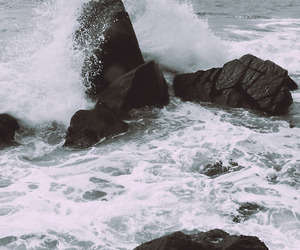 rock, water, and nature image