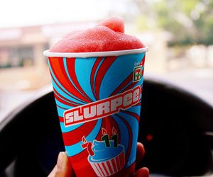 slurpee, photography, and drink image
