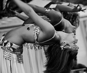 arab, arabic, and belly dance image
