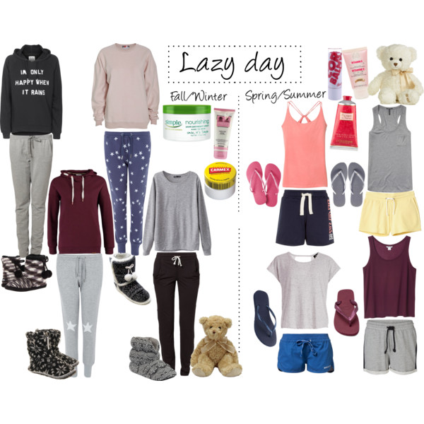 c356eda1fbd9 Lazy day  P - Polyvore on We Heart It