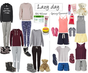 baggy, lazy day, and outfits image