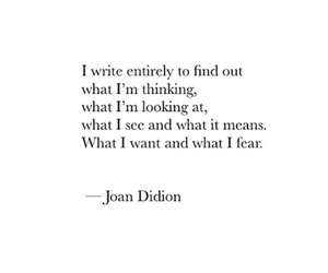 fears, feelings, and joan didion image
