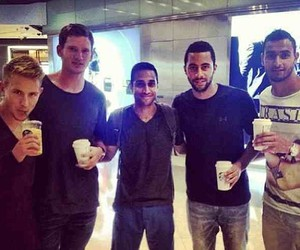 nacer chadli, moussa dembele, and lewis holtby image