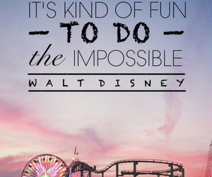 walt disney, fun, and quote image