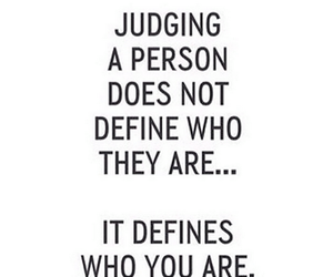 quote, judging, and define image