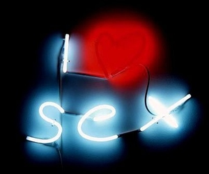 neon, sex, and love image