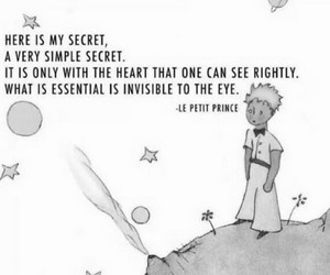 quotes, heart, and little prince image