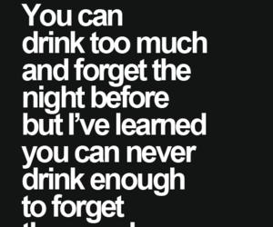 drink, sad, and love image