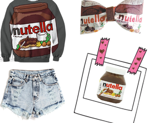 clothes, nutella, and outflit image