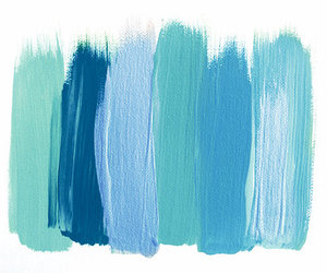 Paint Blue And Colors Image