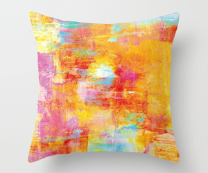 abstract art, home decor, and pastel colors image