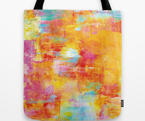 Abstract Painting, whimsical, and colorful art image