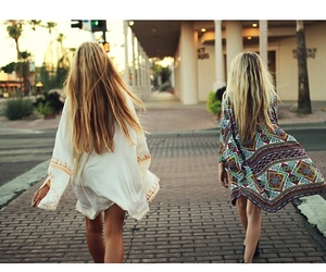 girl, hair, and hippie image