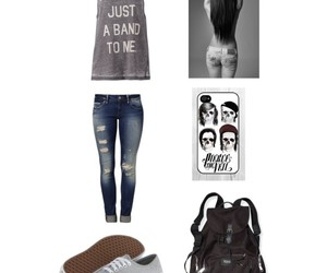 casual, hair, and outfits image