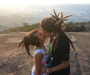 brazil, dreads, and one love image