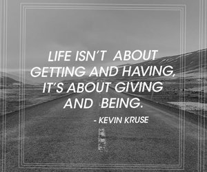 giving, life, and quote image