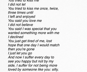 him, Letter, and love quotes image