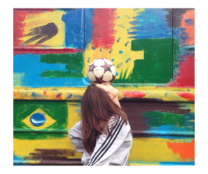 beautiful, brazil, and colorful image