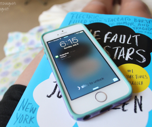 book, tfios, and iphone image