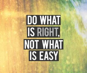 Right, Easy, and quote image