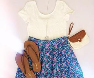 outfit, skirt, and summer image