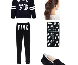 outfits, pink, and polyvore set image