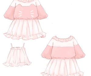 pink, cute, and anime image