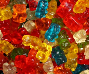 gummy bears, wallpaper, and yum image
