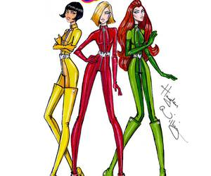 totally spies, hayden williams, and art image