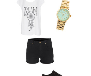 ice cream, t-shirt, and outfits image