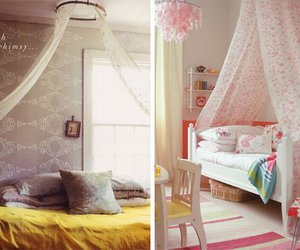 canopy bed, canopy beds, and canopy bed curtains image