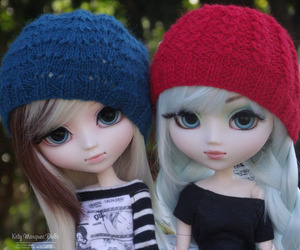 beret, hat, and knit image
