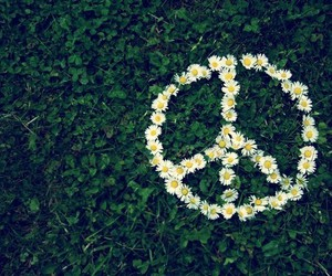 hippies and peace image