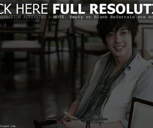 kim hyun joong, korea, and beauty smile image