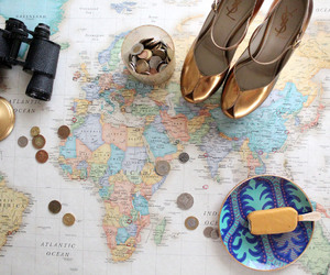 travel and gold image