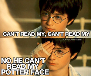 harry potter, Lady gaga, and poker face image