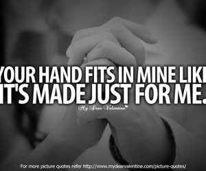 couples, cute couples, and love quotes image