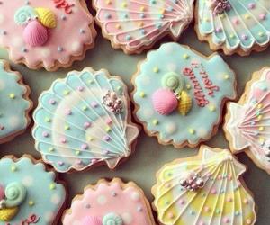 food, cute, and Cookies image