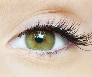 eyelash, eyes, and hazel image