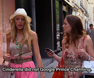 blair, cinderella, and dan humphrey image