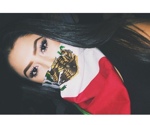 latina, mexican, and pretty image