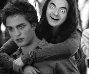 twilight, funny, and mr bean image