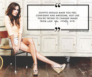 celebrity, fashion, and words of wisdom image