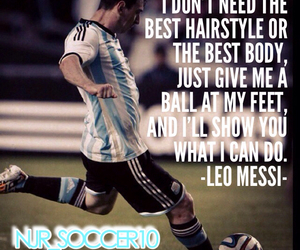 football, leo messi, and soccer image