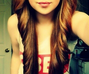 girl, hair, and obey image